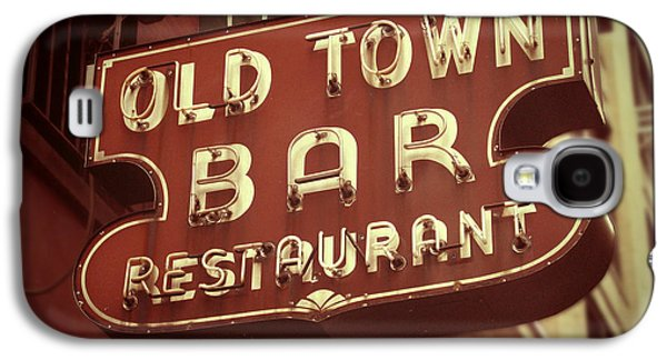 Old Town Digital Art Galaxy S4 Cases - Old Town Bar - New York Galaxy S4 Case by Jim Zahniser