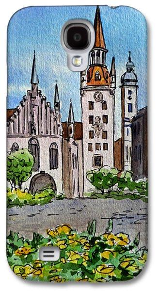 Old Town Hall Munich Germany Galaxy S4 Case by Irina Sztukowski