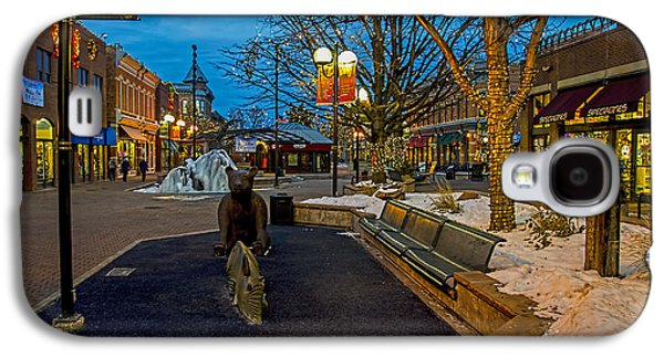 Fort Collins Galaxy S4 Cases - Old Town Snow Galaxy S4 Case by Keith Ducker