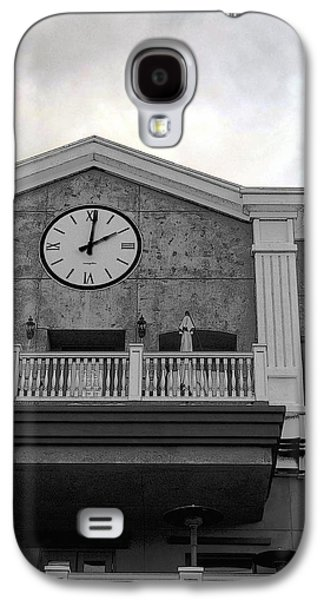 Old Town Digital Art Galaxy S4 Cases - Old Town Temecula - The Clock Galaxy S4 Case by Glenn McCarthy
