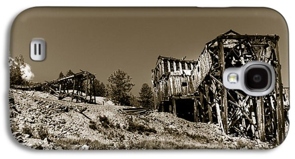 Fault Galaxy S4 Cases - Old Tramway Headhouse Galaxy S4 Case by Robert Bales