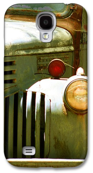 Old Trucks Photographs Galaxy S4 Cases - Old Truck Abstract Galaxy S4 Case by Ben and Raisa Gertsberg