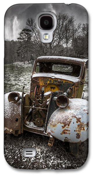 Autumn In The Country Galaxy S4 Cases - Old Truck in the Smokies Galaxy S4 Case by Debra and Dave Vanderlaan