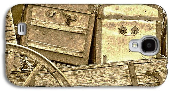 Laura Wrede Galaxy S4 Cases - Old Trunks in Genoa Nevada Galaxy S4 Case by Artist and Photographer Laura Wrede