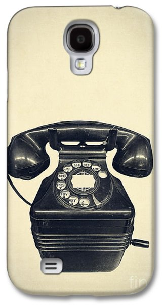 Old Objects Galaxy S4 Cases - Old vintage telephone Galaxy S4 Case by Edward Fielding