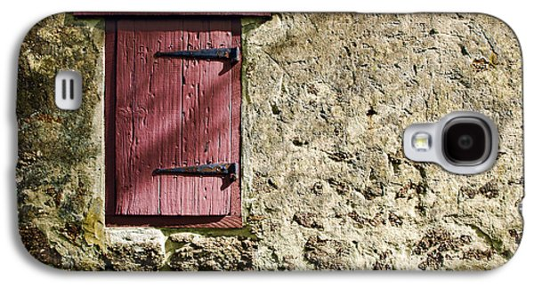 Historic Home Galaxy S4 Cases - Old Wall and Door Galaxy S4 Case by Olivier Le Queinec