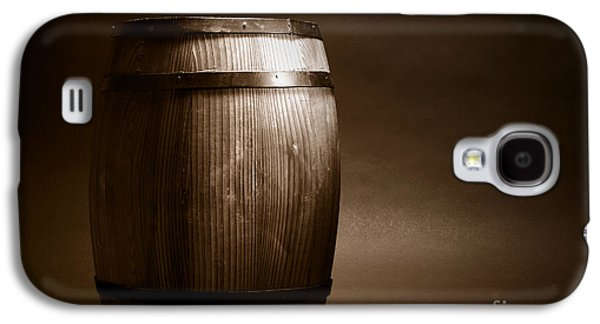 Barrel Galaxy S4 Cases - Old Whisky Barrel Galaxy S4 Case by Olivier Le Queinec