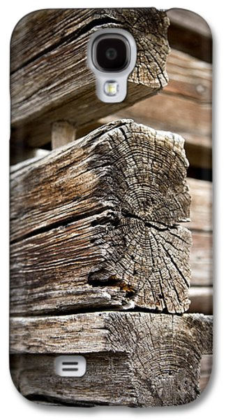 Shed Galaxy S4 Cases - Old Wood Galaxy S4 Case by Frank Tschakert