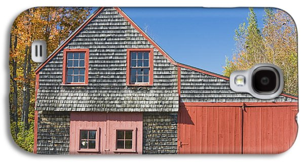 Old Maine Barns Galaxy S4 Cases - Old Wood Shingle Shed Galaxy S4 Case by Keith Webber Jr