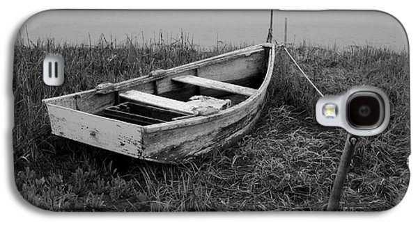 Rowboat Digital Art Galaxy S4 Cases - Old Wooden Rowboat II Galaxy S4 Case by David Gordon