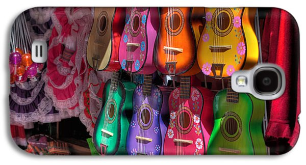 Ukelele Galaxy S4 Cases - Olvera Street Ukeleles Galaxy S4 Case by Richard Hinds