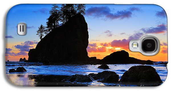 Harmonious Galaxy S4 Cases - Olympic Sunset Galaxy S4 Case by Inge Johnsson