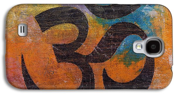 Religious Galaxy S4 Cases - Om Galaxy S4 Case by Michael Creese