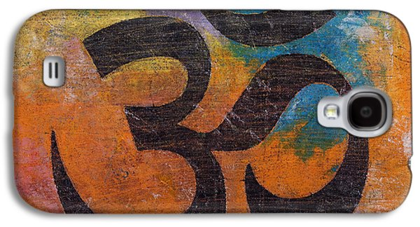 Om Galaxy S4 Case by Michael Creese