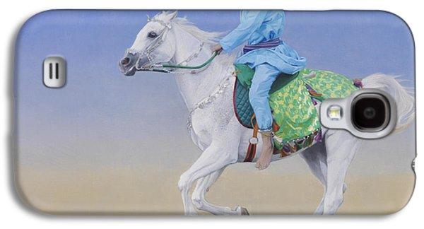 Sprint Galaxy S4 Cases - Oman Cavalryman Galaxy S4 Case by Emma Kennaway