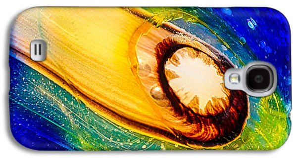 Storm Glass Galaxy S4 Cases - Omastes Comet Galaxy S4 Case by Omaste Witkowski