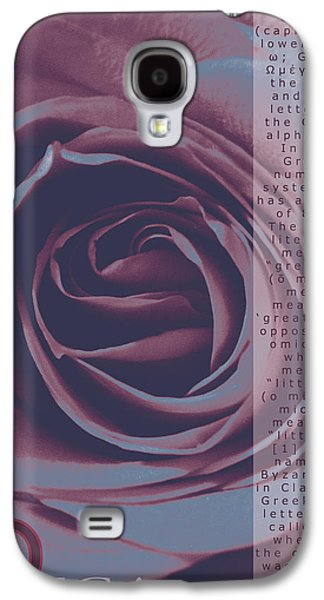 Duo Tone Galaxy S4 Cases - Omega Duo Tone Design Galaxy S4 Case by Teri Schuster