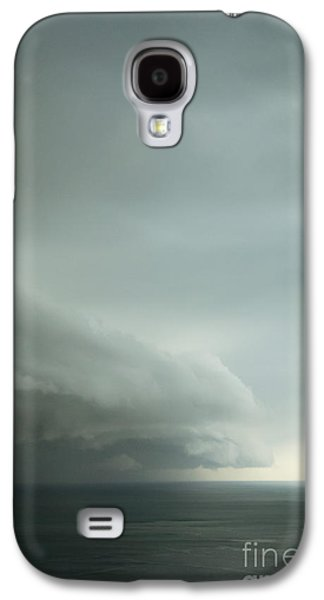 Turbulent Skies Galaxy S4 Cases - Ominous Skies I Galaxy S4 Case by Margie Hurwich