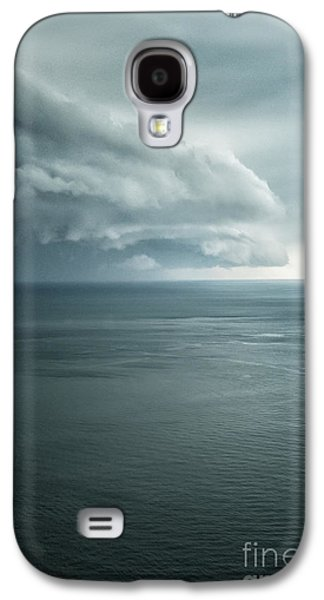 Turbulent Skies Galaxy S4 Cases - Ominous Skies II Galaxy S4 Case by Margie Hurwich