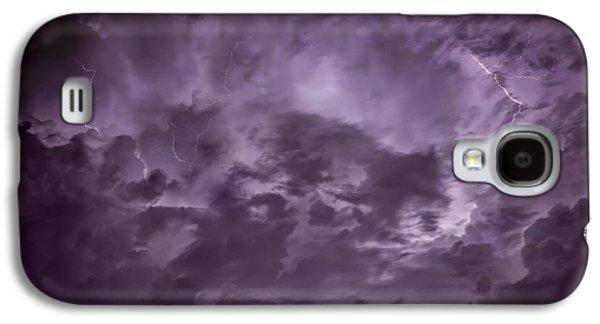 Schwartz Galaxy S4 Cases - Ominous Sky Galaxy S4 Case by Donald Schwartz