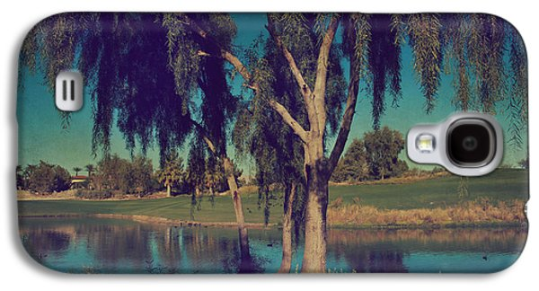 Lone Tree Galaxy S4 Cases - On a Lazy Afternoon Galaxy S4 Case by Laurie Search