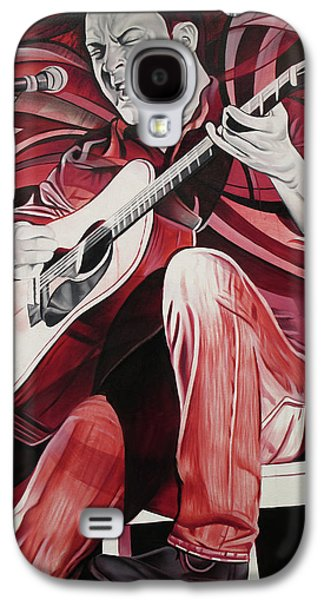 The Dave Matthews Band Paintings Galaxy S4 Cases - On bended Knees Galaxy S4 Case by Joshua Morton