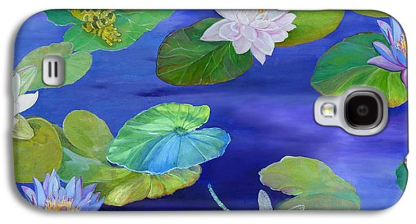 Motifs Galaxy S4 Cases - On Big Fresh Pond Galaxy S4 Case by Kimberly McSparran