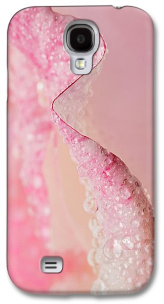 Flower Design Photographs Galaxy S4 Cases - On Edge Galaxy S4 Case by Mary Jo Allen