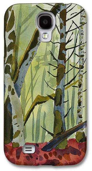 Ross Paintings Galaxy S4 Cases - On Ivy Hill Galaxy S4 Case by Alexandra Schaefers
