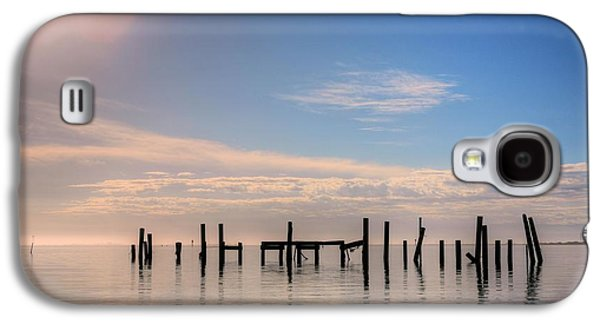 Florida Panhandle Galaxy S4 Cases - On Santa Rosa Sound Galaxy S4 Case by JC Findley