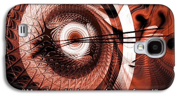 Quote Galaxy S4 Cases - On Target Galaxy S4 Case by Anastasiya Malakhova