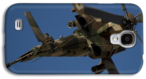 Helicopter Photographs Galaxy S4 Cases - On the Attack II Galaxy S4 Case by Paul Job