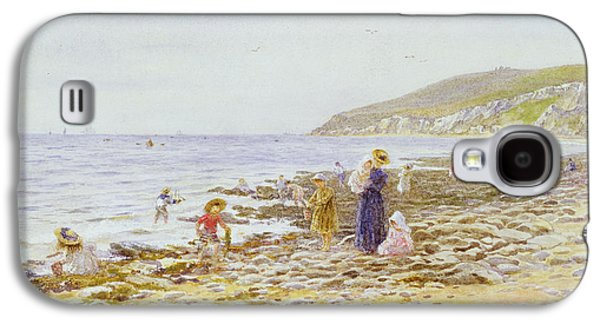 On The Beach Galaxy S4 Cases - On the Beach Galaxy S4 Case by Helen Allingham
