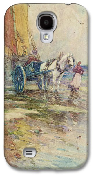 On The Beach  Galaxy S4 Case by Oswald Garside