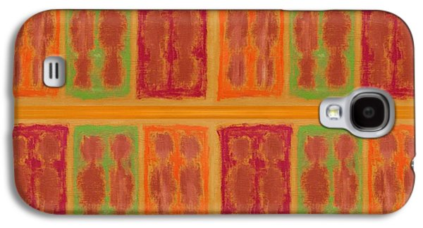 Posters On Mixed Media Galaxy S4 Cases - On The Beach Galaxy S4 Case by Patrick J Murphy