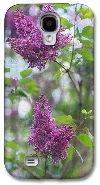 Lilacs Galaxy S4 Cases - On The Bush Galaxy S4 Case by Rebecca Cozart