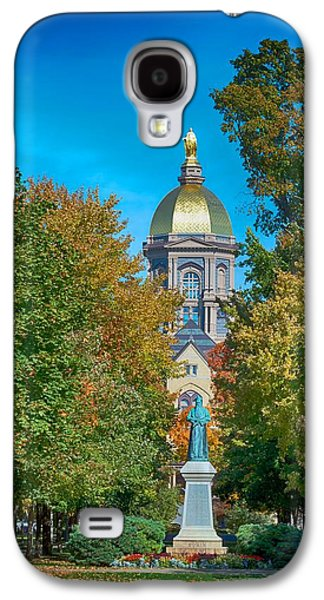 On The Campus Of The University Of Notre Dame Galaxy S4 Case by Mountain Dreams