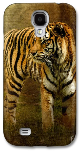The Tiger Hunt Galaxy S4 Cases - On The Hunt Galaxy S4 Case by Betty LaRue
