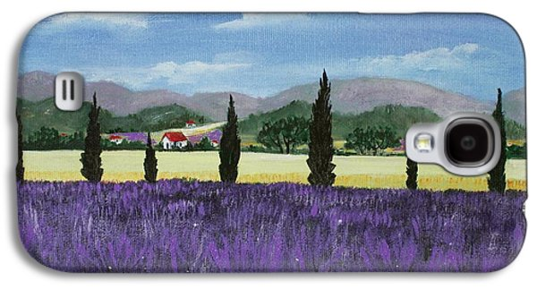 Garden Scene Drawings Galaxy S4 Cases - On the way to Roussillon Galaxy S4 Case by Anastasiya Malakhova