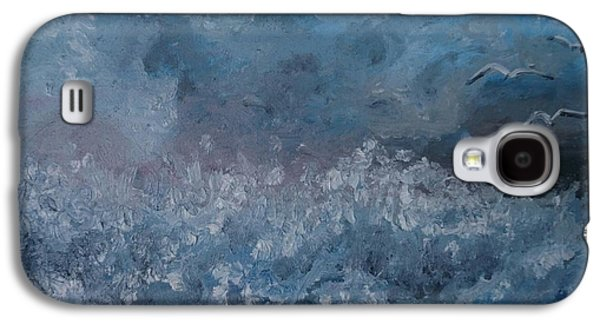 Tempest Galaxy S4 Cases - On The Wing Galaxy S4 Case by Isabella F Abbie Shores LstAngel Arts
