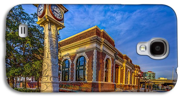 Terminal Photographs Galaxy S4 Cases - On Time Train Galaxy S4 Case by Marvin Spates