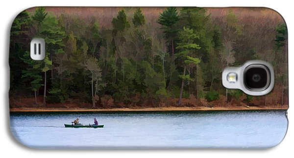 Walden Pond Galaxy S4 Cases - On Walden Pond Galaxy S4 Case by Jayne Carney