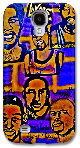 Once A Laker... Galaxy S4 Case by Tony B Conscious