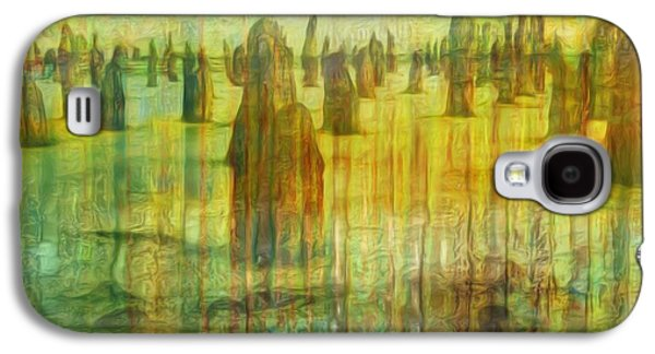 Abstract Forms Galaxy S4 Cases - Once There Was Galaxy S4 Case by Jack Zulli