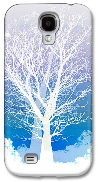 Moon Digital Galaxy S4 Cases - Once upon a moon lit night... Galaxy S4 Case by Holly Kempe