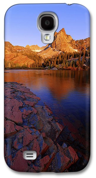 A Summer Evening Landscape Galaxy S4 Cases - Once Upon a Rock Galaxy S4 Case by Chad Dutson