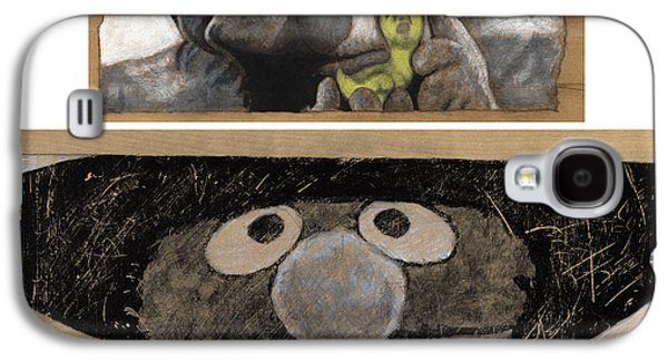 Bad Drawing Galaxy S4 Cases - Once Upon a Time in Sesame Street Galaxy S4 Case by Justin Clark