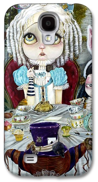 Mad Hatter Paintings Galaxy S4 Cases - Once Upon a Time Galaxy S4 Case by Leticia Frankio