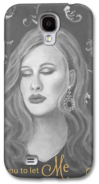 Adele Paintings Galaxy S4 Cases - One and Only Galaxy S4 Case by The Art With A Heart By Charlotte Phillips