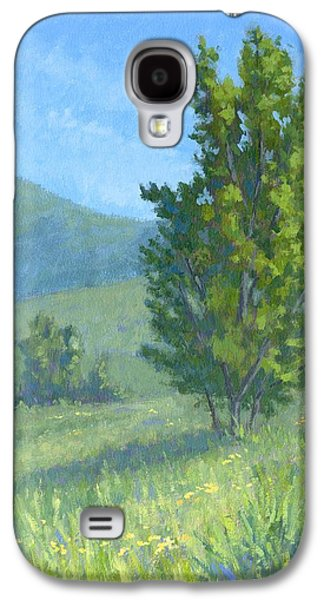 River Jordan Paintings Galaxy S4 Cases - One Fine Spring Day Galaxy S4 Case by David King